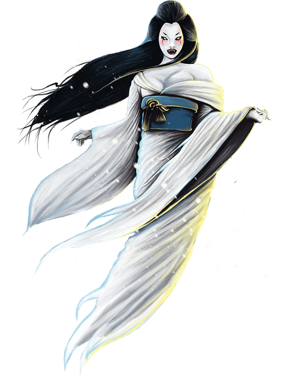 The Yuki-Onna Snow Woman